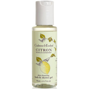 Crabtree & Evelyn Citron, Honey, Coriander Bath and Shower Gel (250ml)