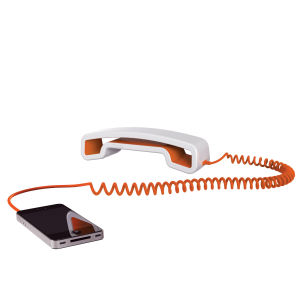 Swissvoice ePure Corded Mobile Handset - White/Orange