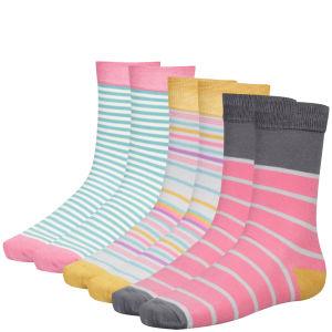 Joules Women's Brilliant Bamboo 3pack Socks Set