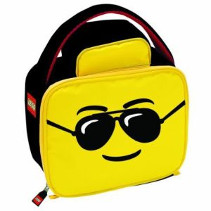 LEGO: Man Aviator Head Lunchbag