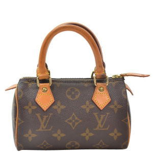 Louis Vuitton Vintage Mini Speedy City Bag and Strap