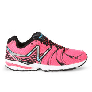 New Balance Women's W870 v2 Light Stability Running Trainer - Pink/Black