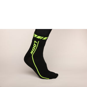 Look Thermo Socks - Black/Fluorescent Green