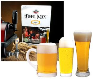 Beer Machine Lager Mix 3 Pack