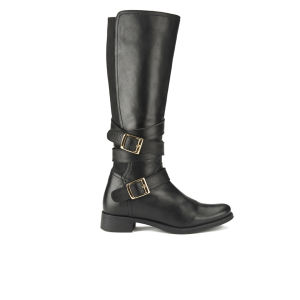 Ravel Women's Hawaii Knee High Leather Riding Boots - Black