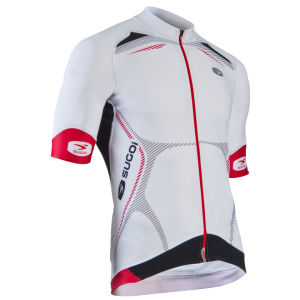 Sugoi RSE Jersey - White/Red