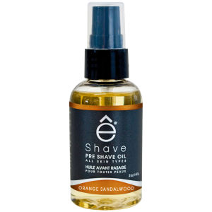 e-Shave Orange Sandalwood Pre Shave Oil 59ml