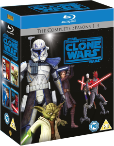 Star Wars Clone Wars - Series 1-4