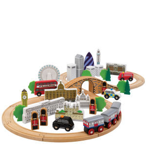 Tidlo The City Of London Wooden Train Set