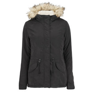 ONLY Women's Lucca Parka - Black