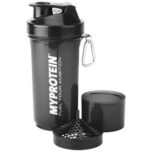Shaker Myprotein Smartshake™ Slim - Nero