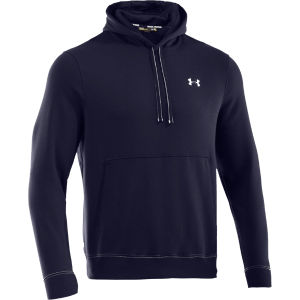 Under Armour Men's Charged Cotton Storm Transit Hoody - Midnight Navy/White