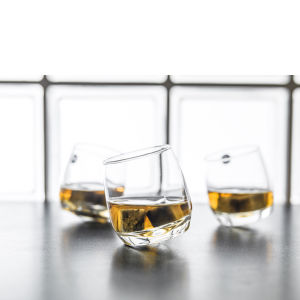 Sagaform Bar Whisky Glasses with Rounded Base (6 Pack)