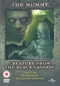 Mummy, /Creature From Black Lagoon