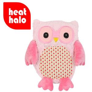 Hooty Heatable Owl - Pink