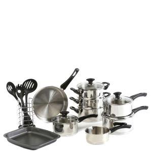 Swan 18 Piece Cookware Set