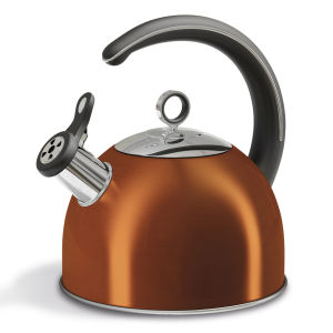 Morphy Richards Accents 2.5 Litre Whistling Kettle - Copper