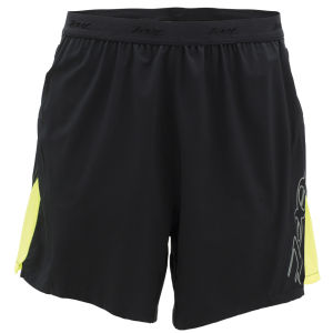 Zoot Men's Performance Run 3 Inch Short - Black/Safety Yellow