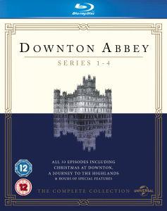 Downton Abbey - Series 1-4