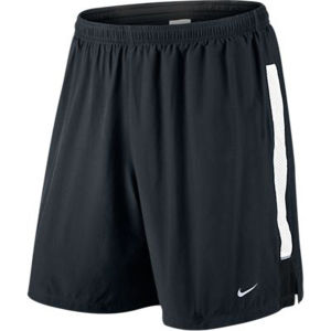 Nike Men's 7 Inch Pursuit 2-in-1 Short - Black/White