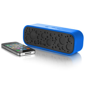 Bluetooth Soundbox with Mic - Blue