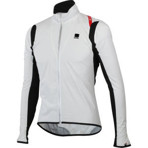 Sportful Hot Pack No-Rain Stretch Jacket - Black/White