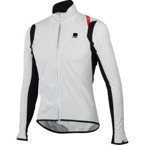 Sportful Hot Pack No-Rain Stretch Jacket - Black/White