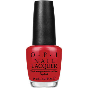 OPI Brazil Nail Lacquer - Red Hot Rio