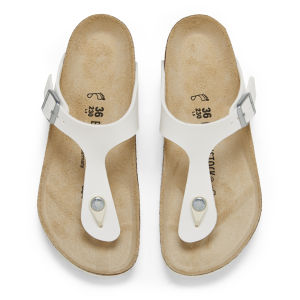 Birkenstock Women's Gizeh Toe-Post Sandals - White: Image 2