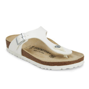 Birkenstock Women's Gizeh Toe-Post Sandals - White: Image 5