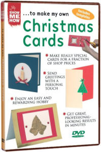 Show Me How To Make My Own - Christmas Cards