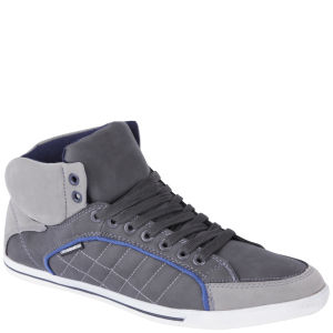 Crosshatch Men's Spindle Low Cut Trainers - Charcoal