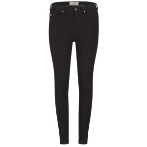 Maison Scotch Women's High Rise Haut Skinny Jeans - Black