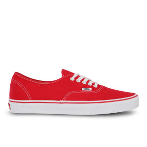 Zapatillas Vans Authentic Lona - Rojo
