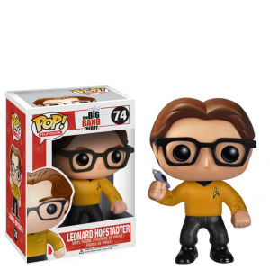 The Big Bang Theory Leonard Star Trek Pop! Vinyl Figur
