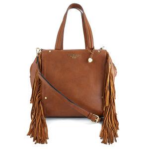 Fiorelli Women's Asher Large Grab Bag - Tan Fringe