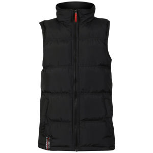 Kickers Boys' Fountain Gilet - Black