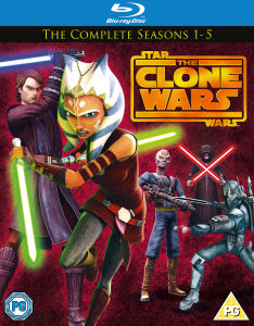 Star Wars : Clone Wars - Saisons 1-5