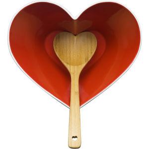 Sagaform Heart Bowl with Ladle