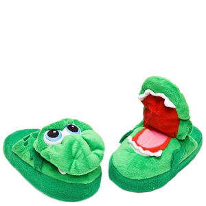 Stompeez Growling Dragon Slippers