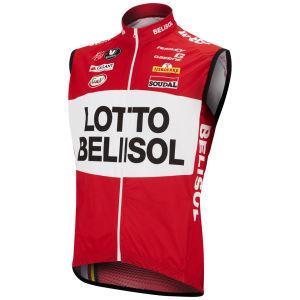 Lotto Belisol Team Replica Kaos Trevalli Gilet - Red 2014