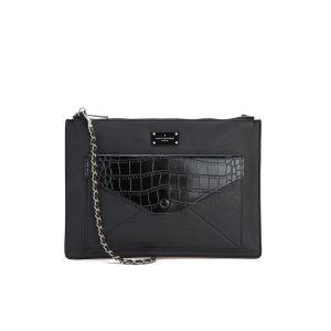 Paul's Boutique Lilly Snake Colour Block Cross Body Bag - Black