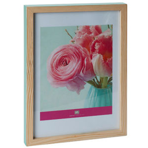 Large Hand Painted Photo Frame - Green