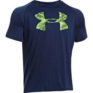 Under Armour Men's Reverb Logo T-Shirt - Academy/Hyper Green