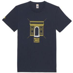 Le Coq Sportif Tour de France N15 Short Sleeved T-Shirt - Blue