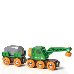 Wagon grue ingénieux -Brio