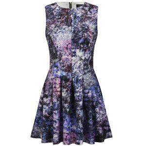 Girls On Film Women's Printed Skater Dress - Multi