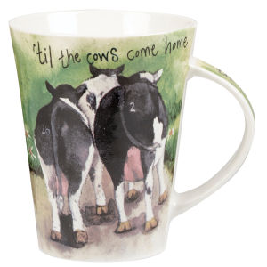 Alex Clark Flirt Mug Cows Come Home (370ml) - Multi