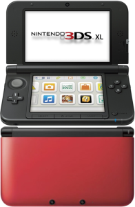 Nintendo 3DS XL Console (Red and Black)