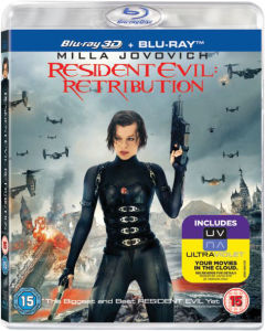 Resident Evil: Retribution 3D (Bevat UltraViolet Copy)